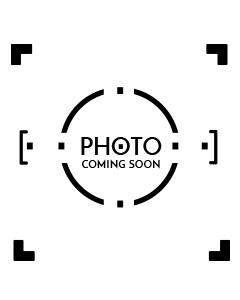 6 Piece Round Leatherette Coaster Set