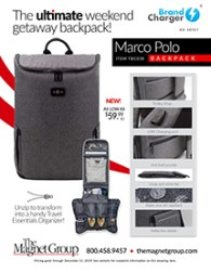 Marco Polo Backpack!