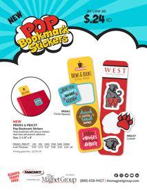 Pop Bookmark Stickers