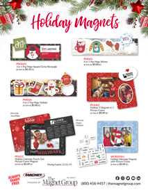 Holiday Magnets!