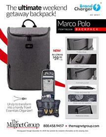 Marco Polo Backpack!