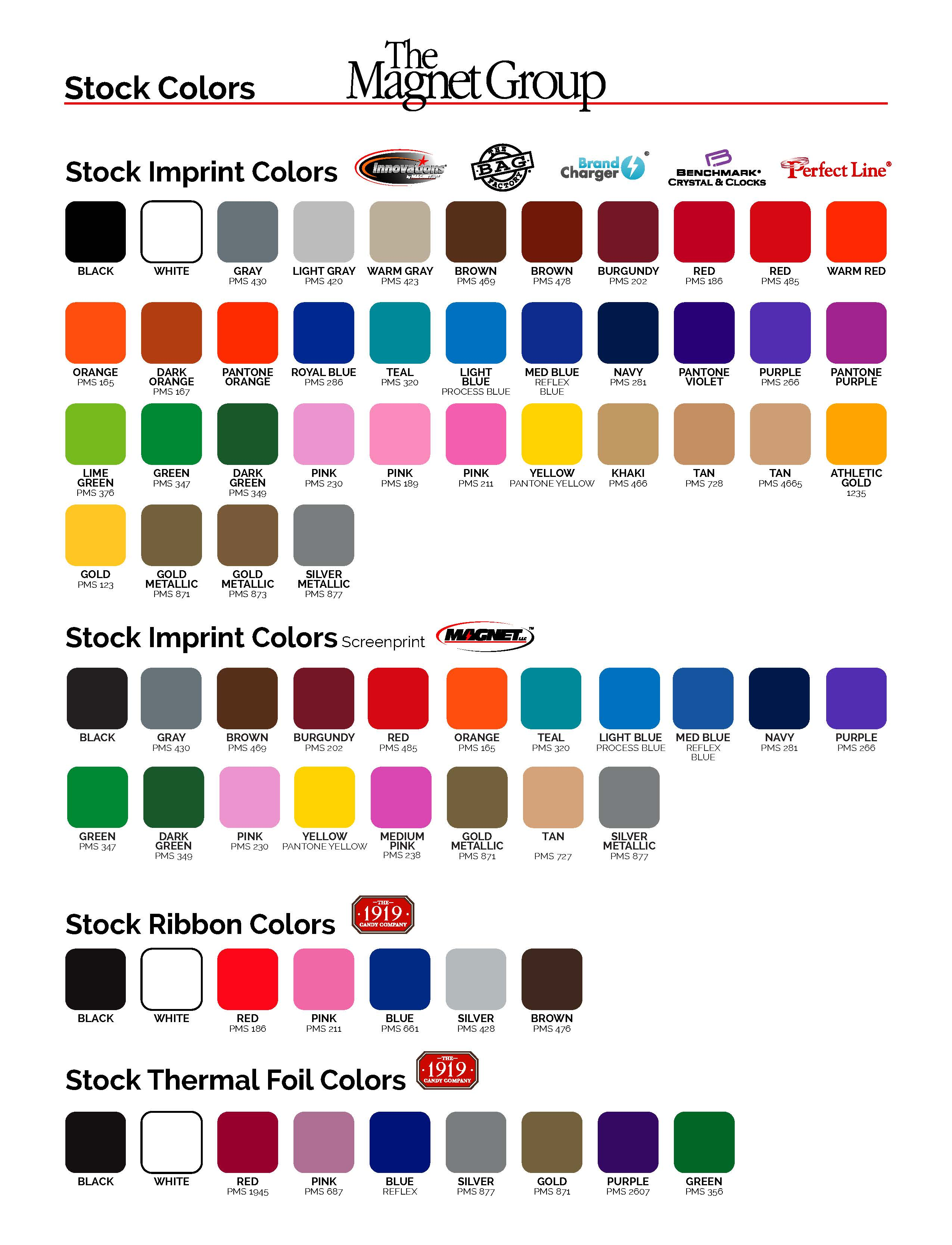 Color Chart 1